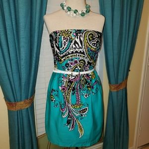Paisley Formal/Casual/Party Dress